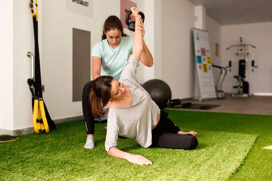 ejercicio sin exfuerzo